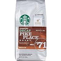 Starbucks Pike Place Roast Decaf, Ground Coffee, 12 oz