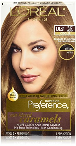 L'Oreal Paris Superior Preference Color Care System, Hi-Lift Ash Brown (High Lift Hair Dye Blonde compare prices)