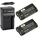 DSTE® Kit (pack of 2) CR-V3 Rechargeable Li-ion Battery + Charger DC78 for Olympus CRV3, LB01 and Olympus C3000, C3040, 40Z, C-2100UZ, C-211, C-211Z, C-3000, C-3030, C-3030Z, C-3040, C-3040Z, C-4000, C-5050, C-5050Z, C-700, C-700UZ, C-720, C-740, C-740UZ, C-750, C-750UZ, C-730, C-4040, C-4040Z, C-3020, C-3020Z, D390, D510 etc ...