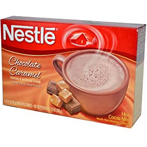 Nestle Hot Cocoa Mix Chocolate Caramel 8 Ct Hot Cocoa Mix, 7.33 Ounce