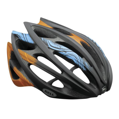 Bell Gage orange/blue (Head circumference: 55-59 cm) Racing Bike Helmet