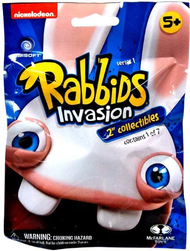 "Nickelodeon's Rabbids Invasion 2"" Collectibles Series 1 (1 Blind Pack) - 1"