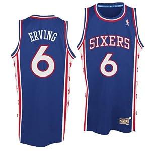 Philadelphia 76ers #6 Julius Erving NBA Soul Swingman Jersey, Blue by adidas
