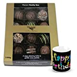 Exotic Treat Of Assorted Truffles With Birthday Mug - Chocholik Belgium Chocolates