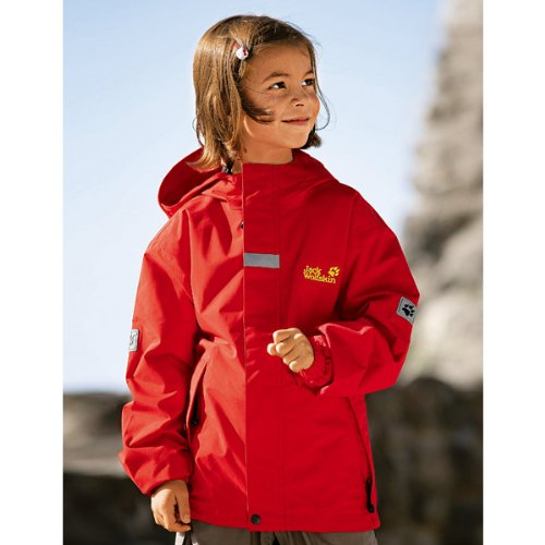 Jack Wolfskin KIDS HIGHLAND tango red 140