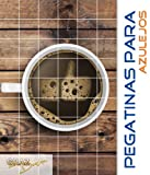 Pegatinas para azulejos Me gusta Thumbs Up cocina taza de café tamaño del azulejo 25x10cm (Número de azulejos = 2 ancho 9 alto)