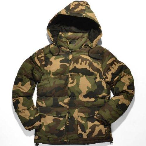 urban classics giacca invernale mimetica - Wood Camo, S