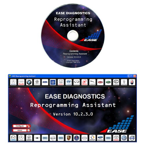 EASE J2534 Pass-Thru Reprogramming Assistant Software for Drew Tech CarDAQ-Plus J2534 Reprogrammer - Version 10
