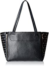 Gussaci Italy Women's Handbag (Black) (GC280)