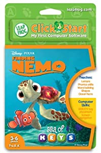 LeapFrog® ClickStart Educational Software:Finding Nemo - Sea of Keys