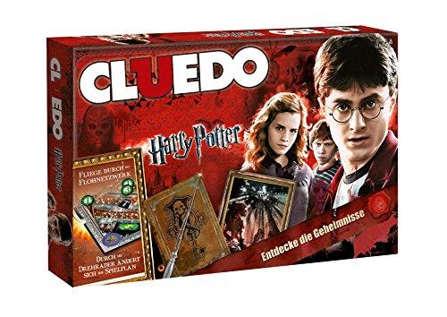 Winning Moves 10944 - Cluedo Harry Potter Brettspiel Spiel Gesellschaftsspiel - Deutsch