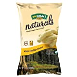 Snyder's of Hanover Eatsmart Naturals White Cheddar Curls, 8-Ounce Bags (Pack of 12) ~ Snyder's of Hanover