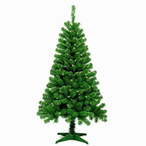 5FT Wood Trail Pine Artificial Christmas Tree