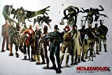Metal Gear Solid 4 Snake Ps3 Game Wall Decoration Poster (#1)