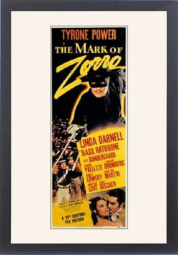 Framed Print of The Mark Of Zorro from Everett Collection