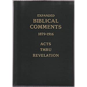 Expanded Biblical Comments – C  T  Russell's Verse by Verse