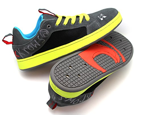 kKrows Liquid Krow Water Sport Shoes, Grey and Green, Size 10-11 (Wakeskate Shoes compare prices)