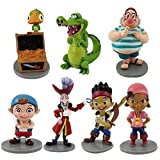 Anime Cartoon Jake And The Neverland Pirates PVC 7pcs Action Figure Toy Doll Kids Gift