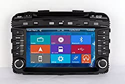 See Crusade Car DVD Player for Kia Sorento 2015 Support 3g,1080p,iphone 6s/5s,external Mic,usb/sd/gps/fm/am Radio 8 Inch Hd Touch Screen Stereo Navigation System+ Reverse Car Rear Camara + Free Map Details