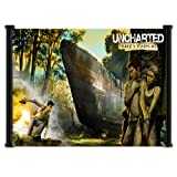 Uncharted Drake's Fortune Game Fabric Wall Scroll Poster (28