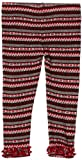 Love U Lots Baby-girls Multistripe Jacquard Ruffle Legging