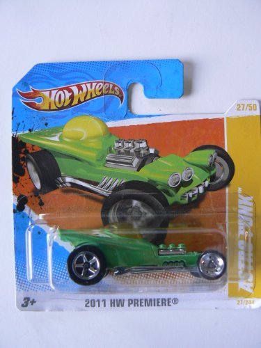Hot Wheels 2011 HW Premiere 27/50 Astro Funk Collector #27/244 on Short Card