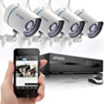 Zmodo 4CH 720P PoE NVR HD Security Ca...