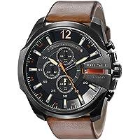Diesel DZ4343 Brown Leather Quartz Men's Fashion Watch