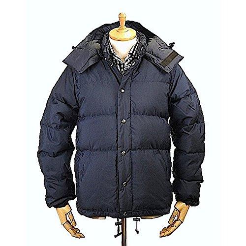 CRESCENT DOWN WORKSクレセントダウンワークス Down Sweater 60/40 Cloth Navy x Navy ダウン セーター ダウンジャケット