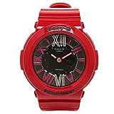 (カシオ) CASIO カシオ 時計 レディース CASIO BGA-160-4BER Baby-G ベビーG NEON DIAL SERIES 腕時計 ウォッチ レッド[並行輸入品]