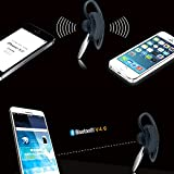 Best_Express Premium 2014 Newest Mini Wireless Bluetooth Headset Stereo Sports/Running & Gym/Exercise Bluetooth Earbuds Headphones Headsets w/Microphone for Iphone 5S 5C 4S 4 Ipad 2 3 4 New iPad Ipod Android Samsung Galaxy Note 3Galaxy Note 2Galaxy S5 Smart Phones Bluetooth Earbuds Black Color for Mens