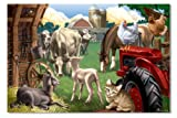 Melissa & Doug Farm Friends Floor Jigsaw Puzzle (24 Pieces)