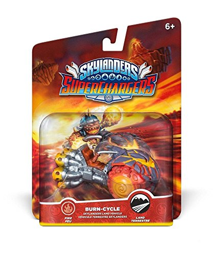 Skylanders Superchargers: Single Vehicles Burn Cycle