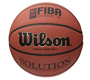 Wilson Solution Ballon de basket Pour le jeu Orange Taille 6