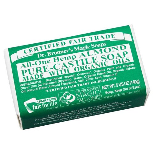 Dr. Bronners Almond Bar Soap Obal05