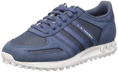 Adidas la Trainer, Scarpe da Ginnastica Basse Donna, Blu (Tech Ink/Tech Ink/Ftwr White), 39 1/3 EU