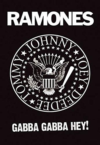 ramones-the-logo-musikposter-punk-rock-gabba-gabba-hey-grosse-61x915-cm
