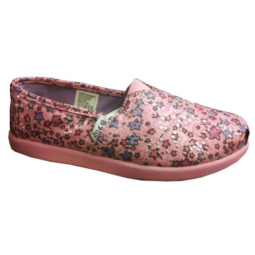 loafers shoes skechers bobs world sparkle fixx pink