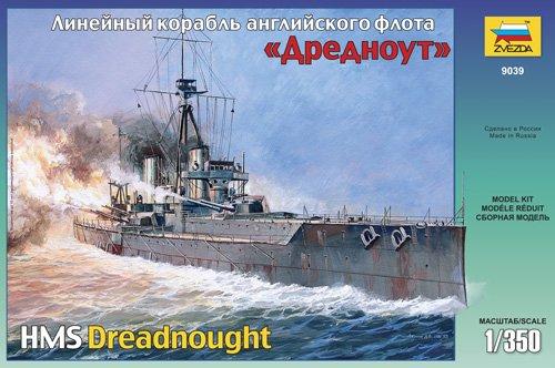 Zvezda - Z9039 - Maquette - Cuirassé Dreadnought - Echelle 1:350