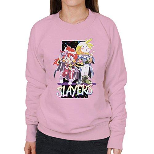 Slayers Lina Inverse Gourry Gabriev Women's Sweatshirt