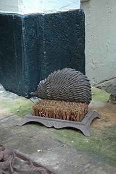Esschert design brosse pieds pieds d coration for Herisson decoration jardin