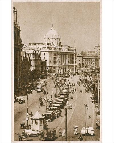 photographic-print-of-china-shanghai-the-bund