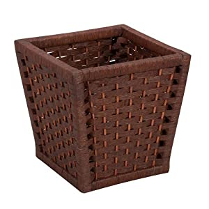 Household Essentials Waste Basket, Paper Rope