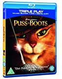 Puss in Boots Triple Play (Blu-ray + DVD + Digital Copy) [2012] [Region Free]