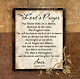 The Lord's Prayer Poster Print by Jennifer Pugh (12 x 12)