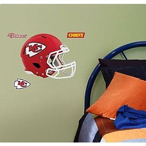 NFL Kansas City Chiefs Fathead Helmet Decal by Fathead