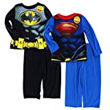 Batman v Superman Toddler 2fer Poly Pajamas Set
