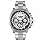 Citizen Men's CC9010-74A Satellite Wave Analog Display Japanese Quartz Silver Watch