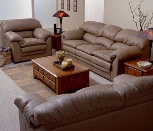 Palliser Shanti Leather Sofa