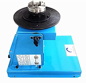 10KG Light Duty Automatic Welding Positioner with 65mm 3-jaw Chuck 220V 2-16RPM from handa